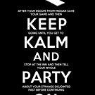 Keep Kalm by Macaluso