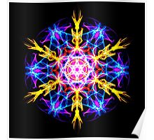 Energetic Geometry-   Merkaba Activation  Poster