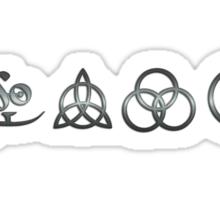 ANCIENT PAGAN SYMBOLS - REEL STEEL Sticker