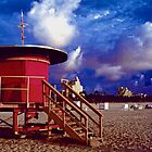 Jetson's Lifeguard Stand by njordphoto
