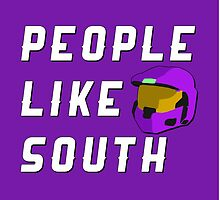 People Like South by direlywolf