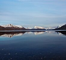 Scenic Photograph of an Alaska Lake by griffingphoto