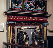 Lovelace Tomb St Mary the Virgin Hurley England 198405120015  by Fred Mitchell