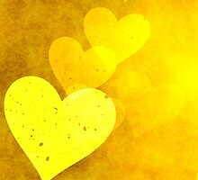 Golden Hearts by BuzzEdition