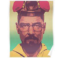 The Master Chemist - Walter White  Poster