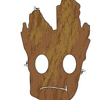 I am Groot Mask by StewNor