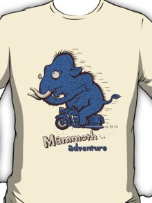 Mammoth adventure - megafauna t-shirt T-Shirt