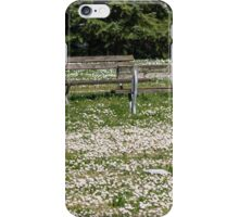 flowery meadow with daisies iPhone Case/Skin
