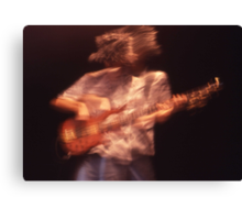 """Spirit Of New Orleans"" - Number 2 (guitarist) Canvas Print"