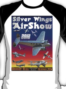 Silver Wings Airshow-1 T-shirt Design T-Shirt