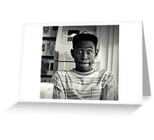 Tyler the Creator Greeting Card