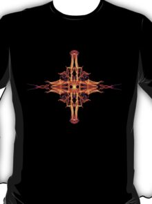 Energetic Geometry-  Abstract Sigil Symbol for Fortitude  T-Shirt