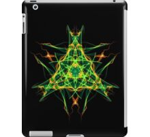 Energetic Geometry-  Abstract Pentacle Symbol for Earthen Connection iPad Case/Skin