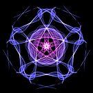Energetic Geometry – Healing Star Flower of Harmonic Resonance . by Leah McNeir