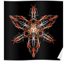 Energetic Geometry – Techno Shaman Energy Focus Invocation Symbol Poster