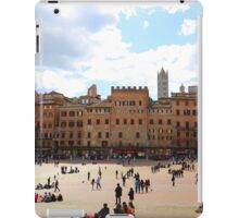 All About Italy. Piece 13 - Piazza del Campo in Siena iPad Case/Skin