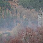 Glendalough Bell Tower by Desaster