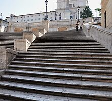 Spanish Steps by Karen E Camilleri
