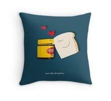 Australian Breakfast Throw Pillow