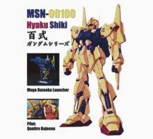 MSN-00100 Hyaku Shiki 百式 love with gold by benyuenkk