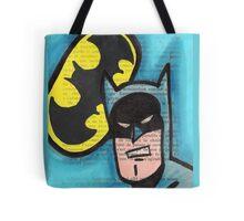 Retro B-man Tote Bag
