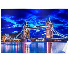 Tower Bridge Of Lights Poster