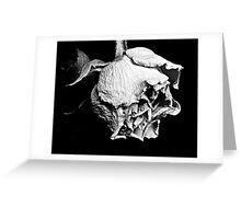Passato il primo Rose Greeting Card