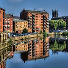 Leeds Riverscape by Andrew Pounder