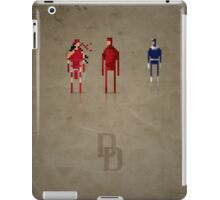 8-Bit Marvels Daredevil iPad Case/Skin