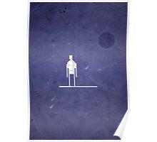8-Bit Marvels Silver Surfer Poster