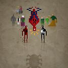 8-Bit Marvels Spiderman by Paulo Capdeville