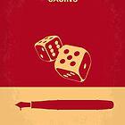 No348 My Casino minimal movie poster by Chungkong