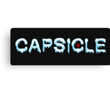 CAPSICLE. Canvas Print