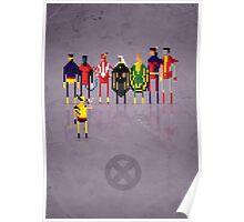 8-Bit Marvels Xmen 2.0 Poster