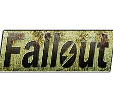 Fallout Logo by martdude