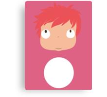 Ponyo likes you! Canvas Print