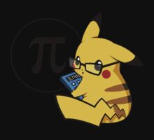Pi-kachu v2.0(with shadows and glasses with lenses) Kids Clothes