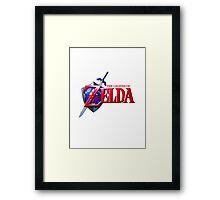 Legend of Zelda Logo Framed Print