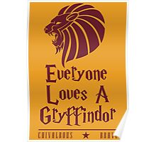 Lion Pride Poster