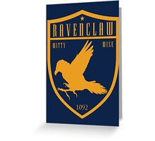 Ravenclaw Crest Greeting Card