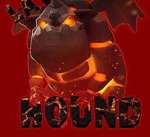 Lava Hound from Clash of Clans by Potatrice