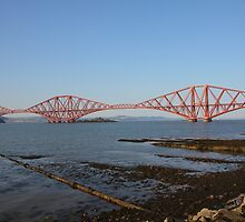 The Forth Bridge from Queensferry by Jonathan Cox