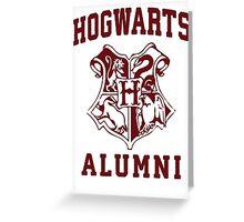Hogwarts Alumni Greeting Card
