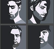 Four Hunting Bros by Becki Edwards