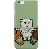 Hungover Bear iPhone Case/Skin