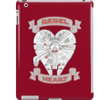 Rebel Heart - red iPad Case/Skin