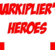 Markiplier's Heroes Sticker