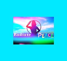 Radiate PEACE Hooper Silhouette by peacesoftuesday