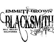 Doc Brown Blacksmith Photographic Print