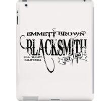 Doc Brown Blacksmith iPad Case/Skin